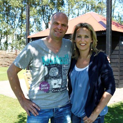 John en Nathalie van camping de Nesse