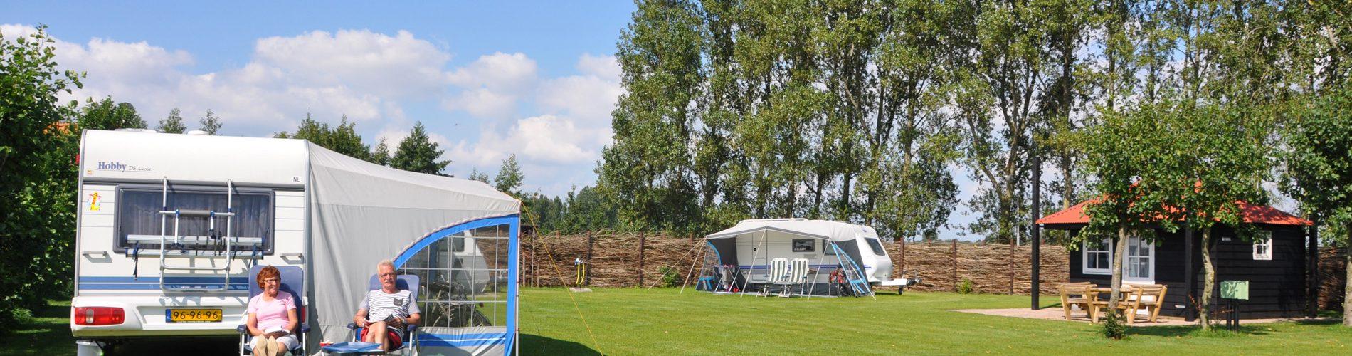 Kamperen of een huisje huren op camping de Nesse in Limmen