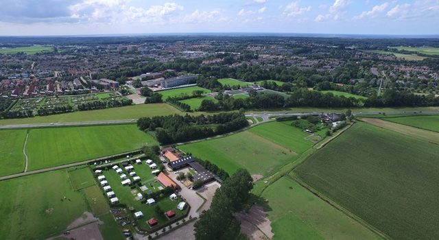 Luchtfoto Camping Castricum