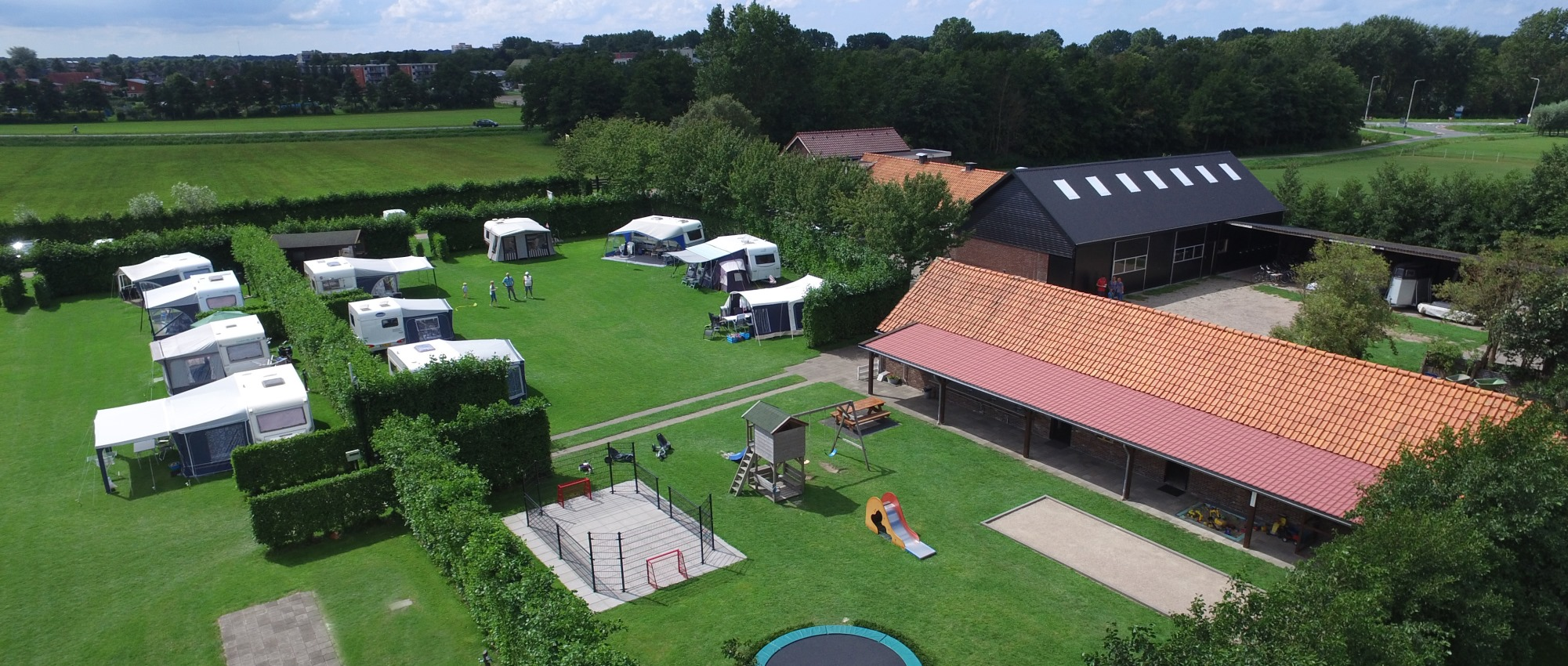 nette camping in Noord Holland