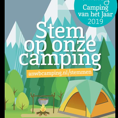 Camping van het jaar verkiezing ANWB