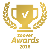 zoover award gold 2018