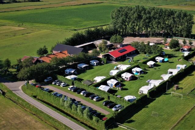Plattegrond camping de Nesse